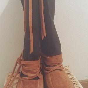 Stegers Mukluks boots.